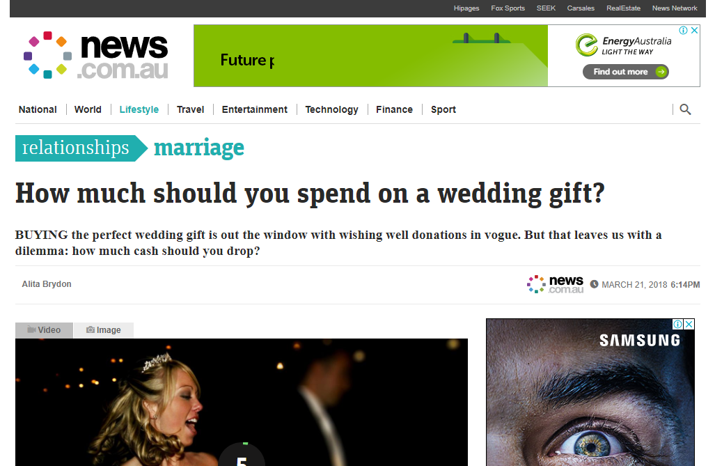 How Much To Spend On A Wedding Gift Alita Brydon